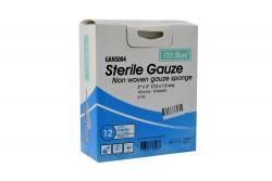 Alfa Safe Gasa Estéril Caja Con 12 Sobres Con 7.5  x  7.5 cm