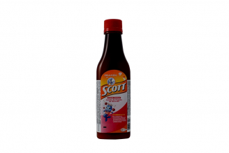 Emulsión De Scott Frasco Con 180 mL Sabor Cereza