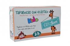 Tapabocas Con Elástico Kids Caja x 25 Unidades