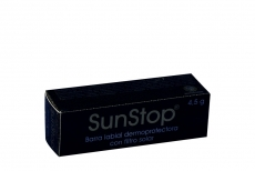 Sunstop Barra Labial Dermoprotectora Caja Con Barra Con 4.5 g