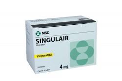 Singulair  Granulado 4 mg Caja Con 30 Sobres Rx