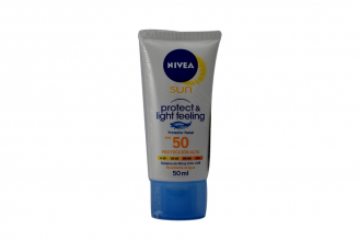 Nivea Protect Light & Feeling FPS 50 Frasco Con 50 mL - Con Sistema De Filtros