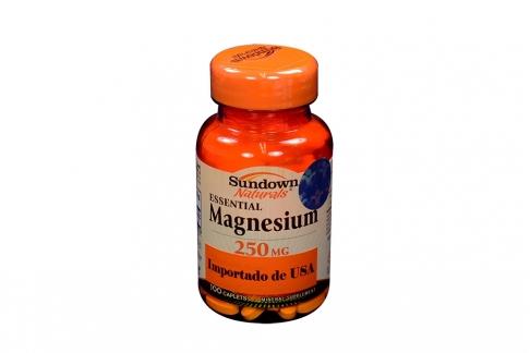Magnesium Frasco Con 100 Tabletas