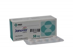 Januvia 50 mg Caja Con 28 Tabletas Recubiertas Rx4