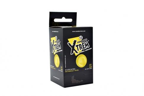 Condones Xtrem Normal Lubricado Caja Con 12 Unidades