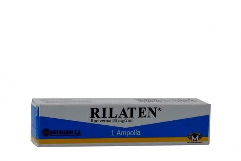 Rilaten 20 mg / 2 mL Caja Con 1 Ampolla Rx