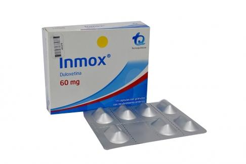 Inmox 60 mg Caja Con 14 Cápsulas Con Gránulos Con Recubrimiento Entérico Rx4 Rx1