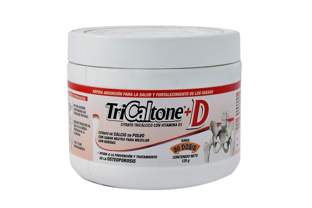 Tricaltone D Polvo Frasco Con 125 g