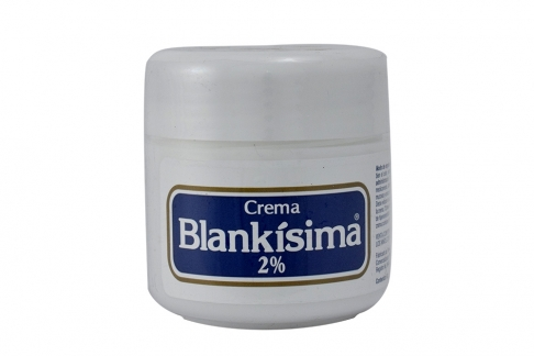 Blankísima Crema 2% Pote Con 60 g Rx