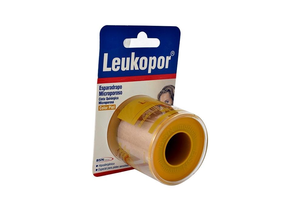 Leukopor Esparadrapo Empaque Con 1 Unidad - Color Piel