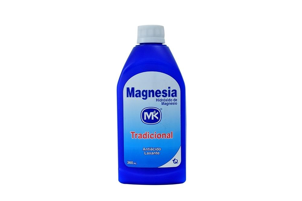 Magnesia Tradicional Frasco Con 360 mL
