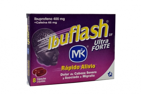 Ibuflash Ultra Forte Caja x 8 Cápsulas