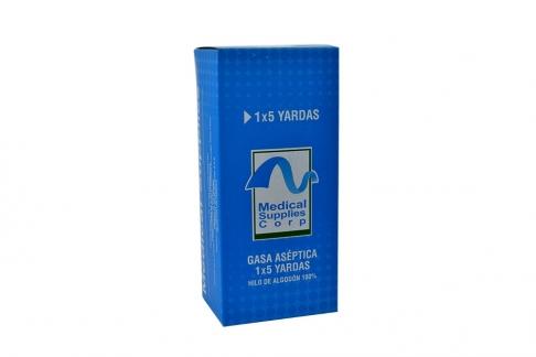 Gasa Aséptica Caja Con 1 Unidad – 1 X 5 Yardas