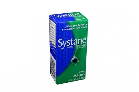 Systane Gotas Lubricantes Oculares Caja Con Frasco Con 15 mL