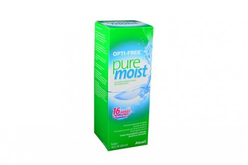 Opti-Free Puremoist Solución Caja Con Frasco Con 300 mL