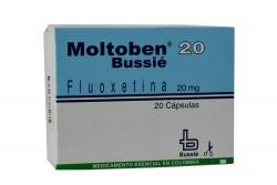 Moltoben 20 mg Caja Con 20 Cápsulas Rx4