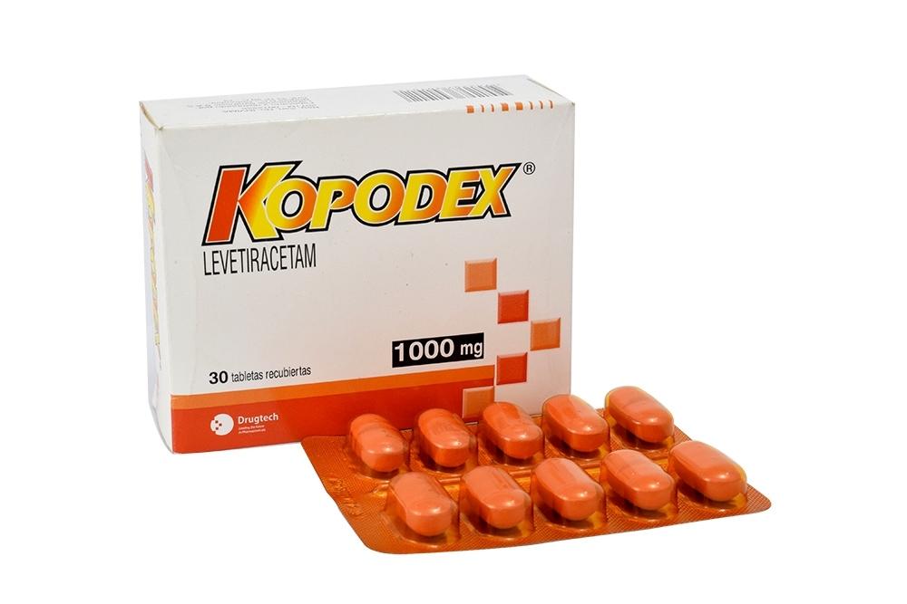 Kopodex 1000 mg Caja Con  30 Tabletas RX4