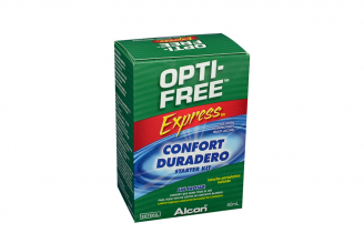 Optifree Express Solución Desinfectante Multipropósito Frasco Con 60 mL