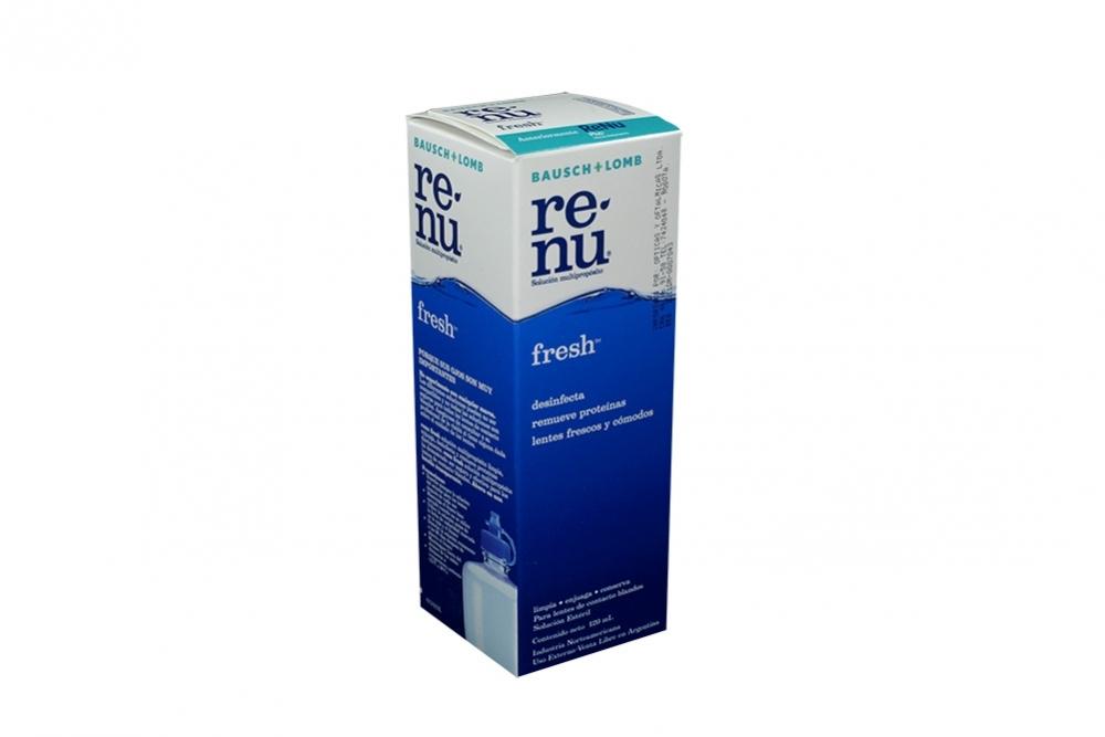 Renu Fresh Solución Oftalmica Caja Con Frasco Con 120 mL