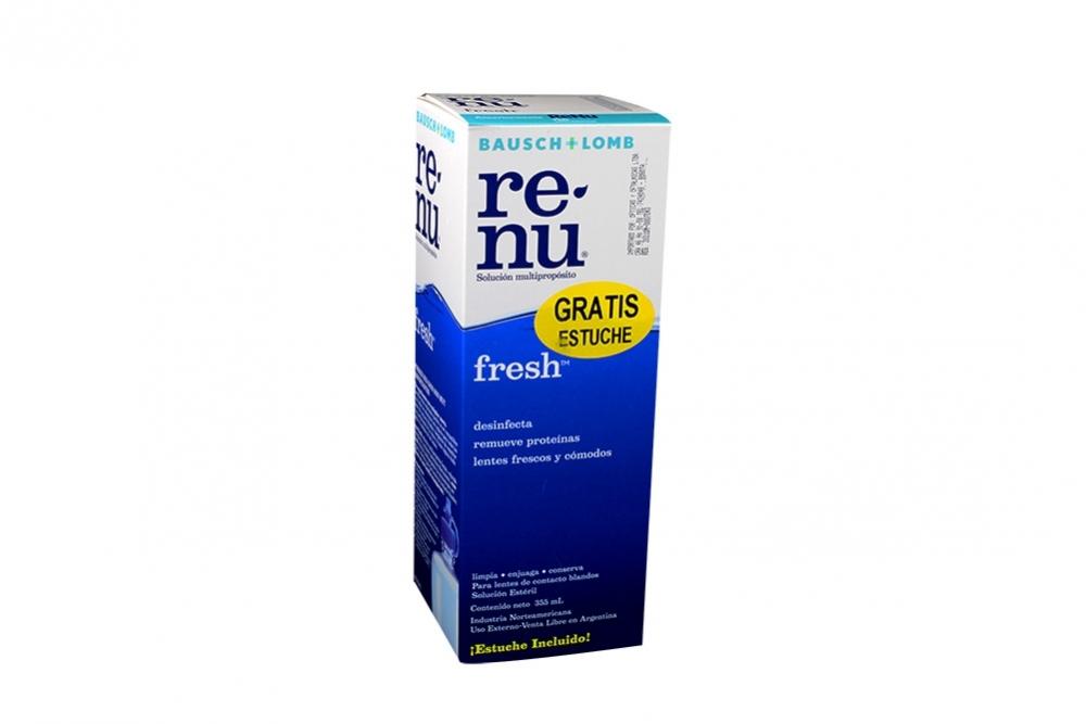 Renu Fresh Solución Multipropósito Caja Con Frasco Con 355 mL