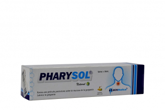 Pharysol Caja Con Spray Con 30 mL