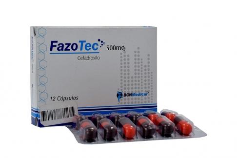 Fazotec 500 Mg Caja X 12 Cápsulas Rx2