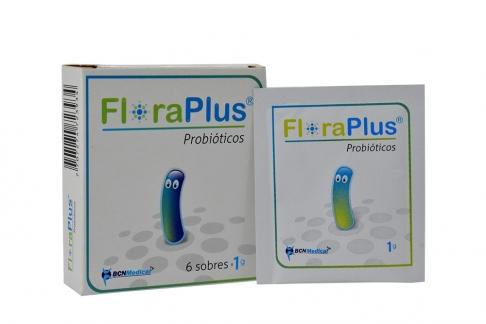 Floraplus Probióticos Caja x 6 Sobres 1 g