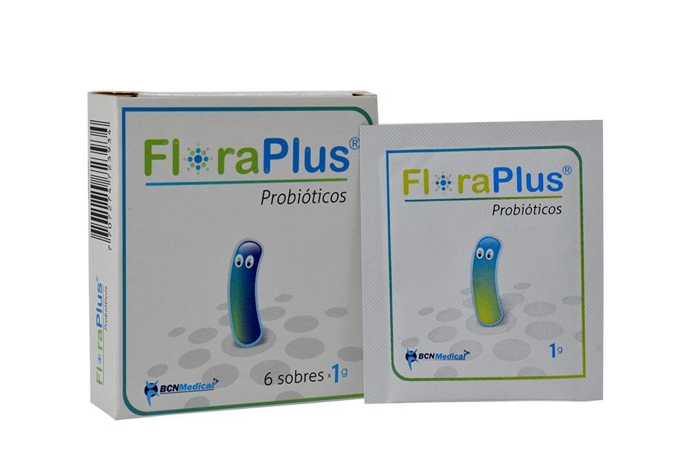 Floraplus Probióticos Caja Con 6 Sobres