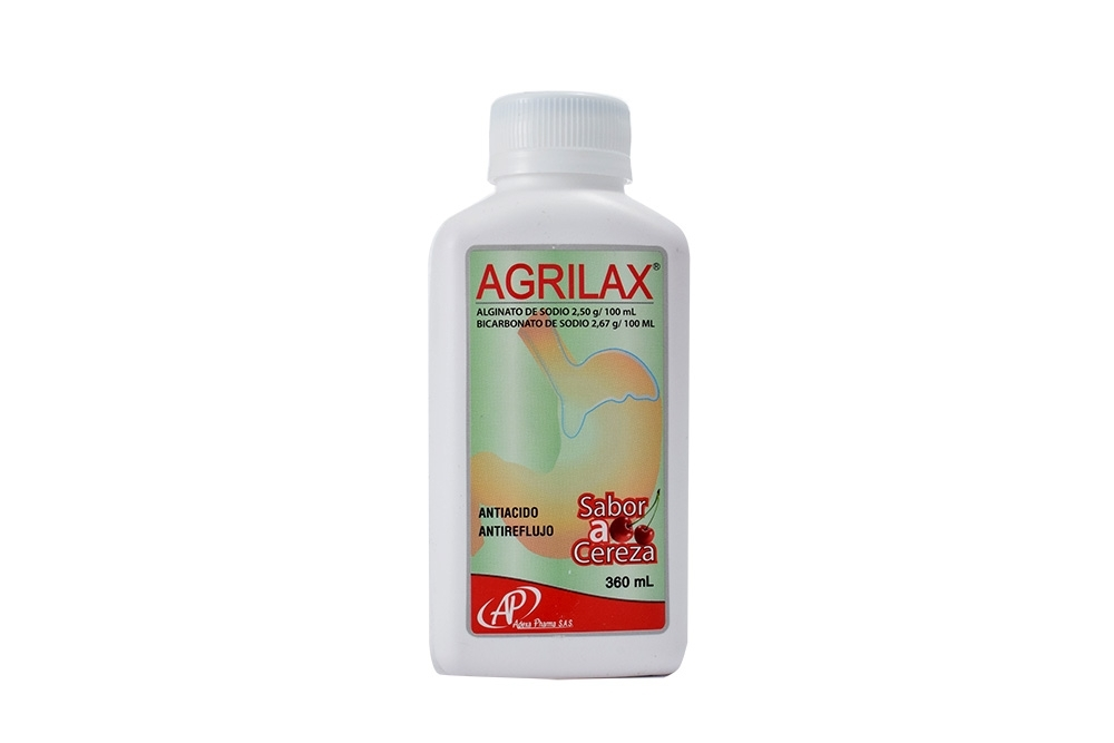 Agrilax Suspensión Oral Sabor Cereza  Frasco X 360 mL