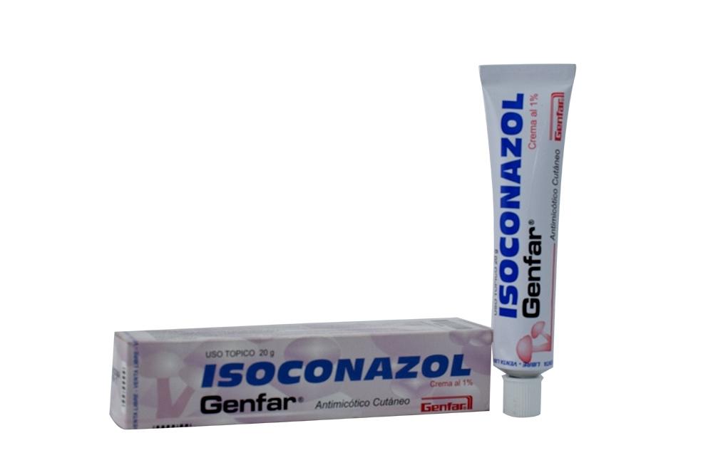 Isoconazol Crema Al 1 % Caja Con Tubo Con 20 g