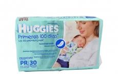 Pañal Huggies Prematuro Pr Paca X 30 Unidades