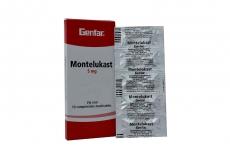 Montelukast 5 mg Caja Con 10 Tabletas Masticables Rx4
