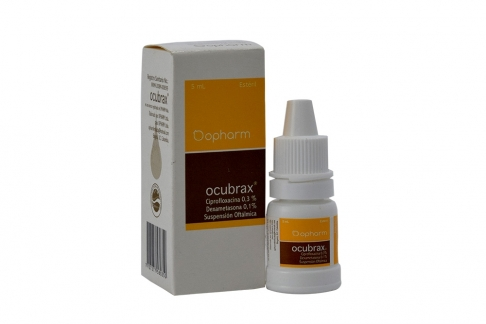 Ocubrax 0.3 / 0.1 % Caja Con Frasco Con 5 mL Rx2