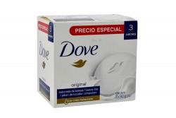 Dove Original Caja Con 3 Jabones Con 90 g C/U