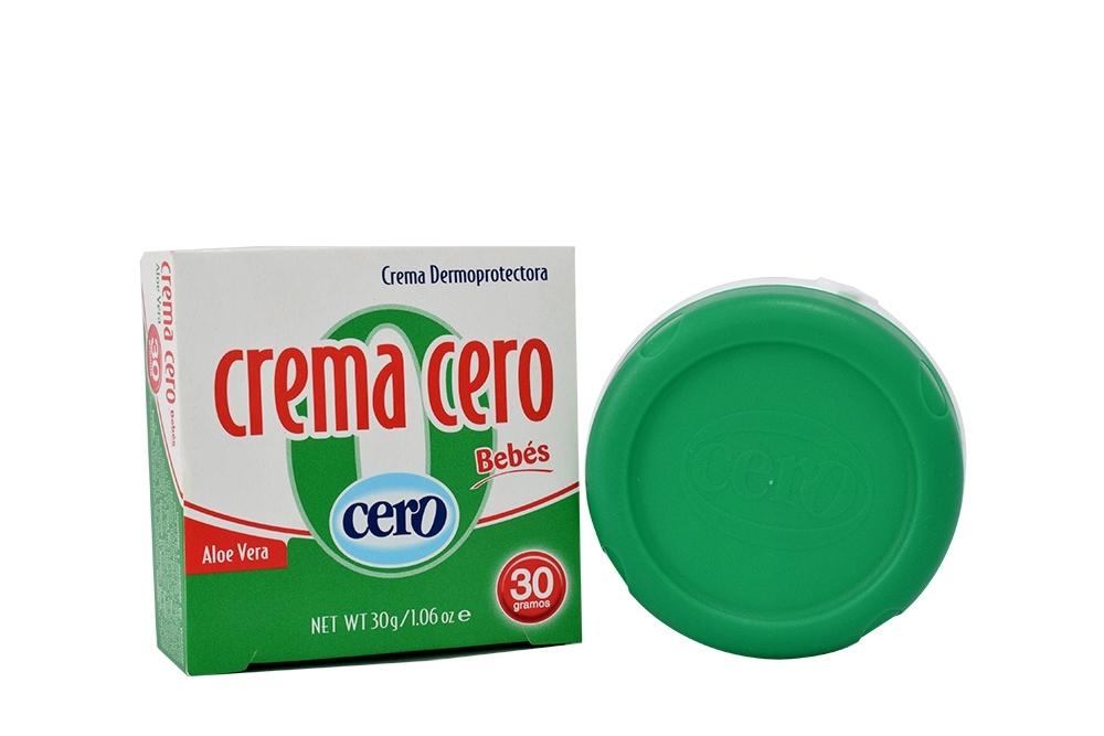Crema Cero Bebés Con Aleo Vera Frasco Con 30 g