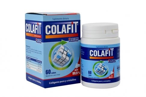 Colafit Caja Con Frasco Con 60 Cubos Colágeno