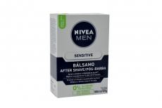 Nivea For Men Balsamo Shave Piel Sensible Caja Con Frasco Con 100 mL