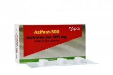 Azifast 500 mg  Caja Con 3 Tabletas Rx2