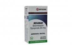 Beclomar 250 mcg Inhalador Bucal Frasco X 200 Dosis Rx