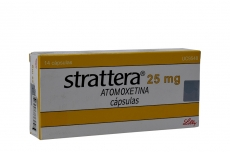 Strattera 25 mg Caja Con 14 Cápsulas Rx4