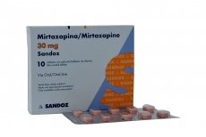 Mirtazapina 30 mg Sandoz Caja Con 10 Tabletas Rx