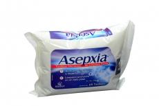 Asepxia Toallitas Húmedas Paquete Con 25 Unidades