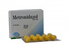 Metronidazol 500 mg Caja Con 10 Óvulos Rx