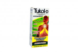 Tukol-D Caja Con Frasco Con 125 mL
