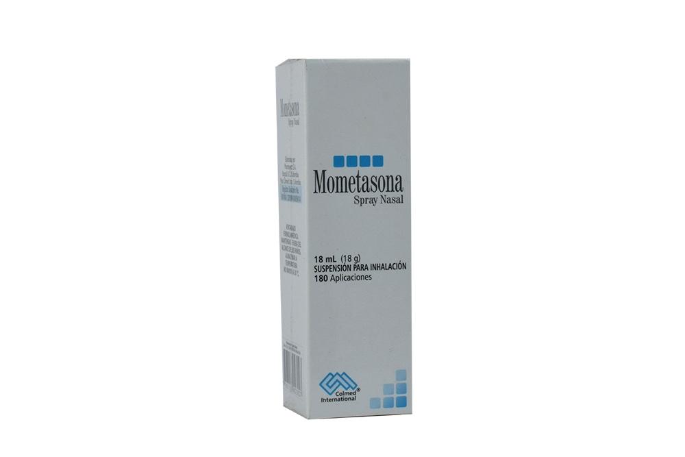 Mometasona Spray Nasal Caja Con Frasco Con 18 mL Rx