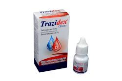 Trazidex Ofteno 0.3 / 0.1 % Suspensión Oftálmica Caja Con Frasco Con 5 mL Rx
