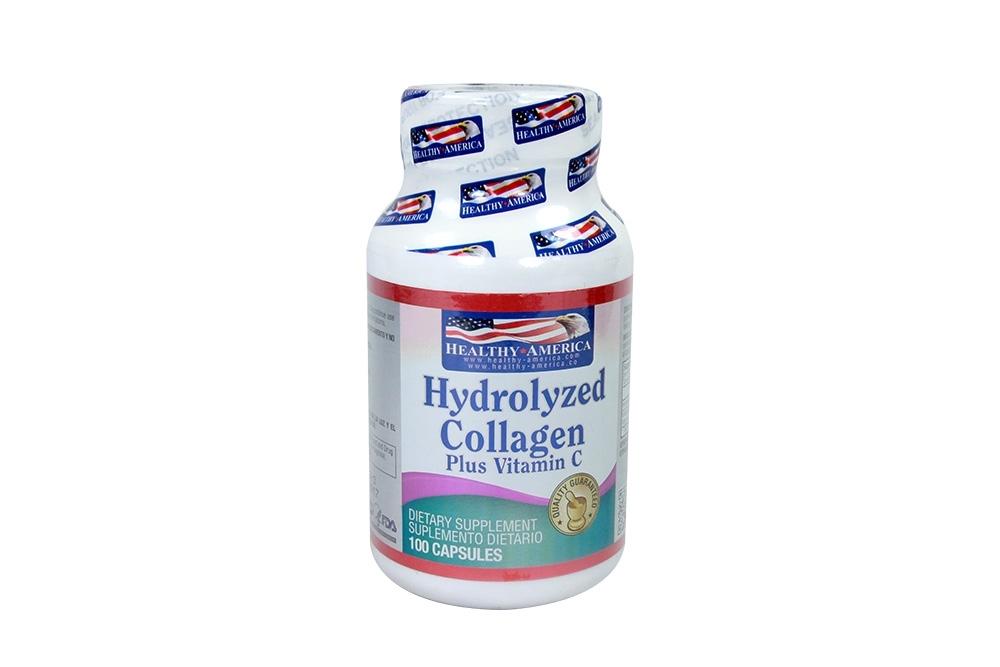 Hydrolyzed Collagen Frasco Con 100 Cápsulas