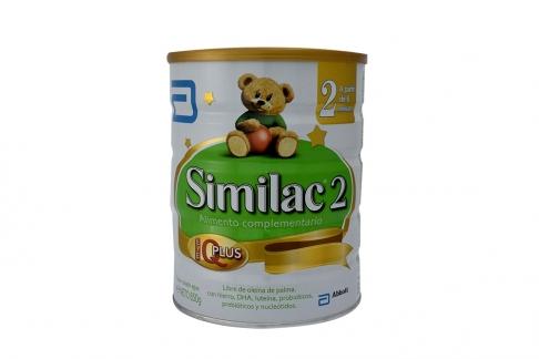 Leche Similac 2  Q Plus Tarro x 850 g