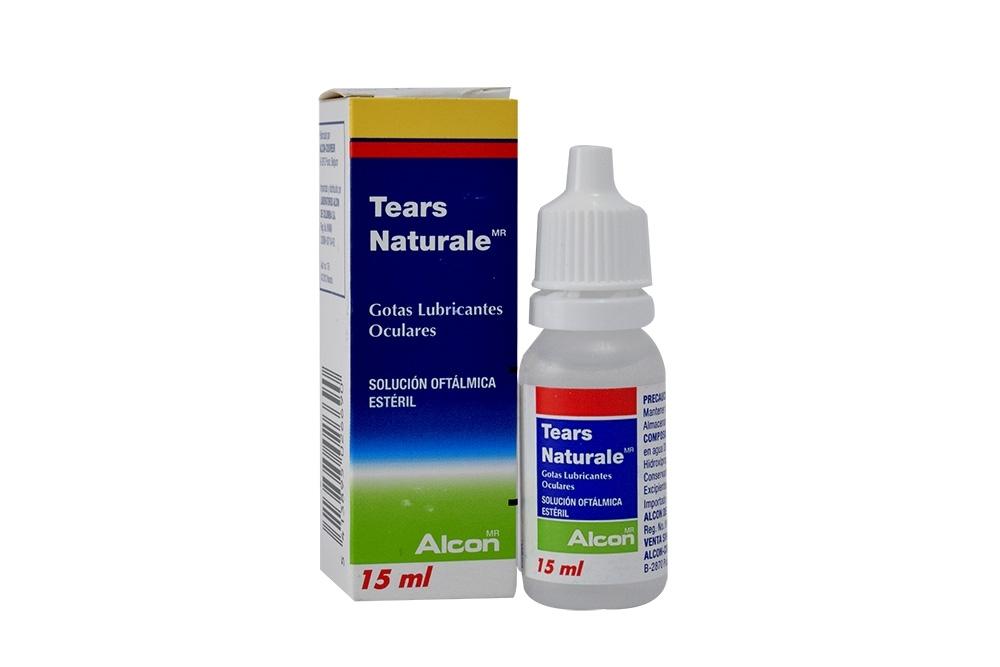 Tears Naturale Solución Oftálmica Caja Con Frasco X 15 mL