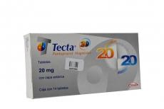 Tecta 20 mg Caja Con 14 Tabletas Recubiertas Rx
